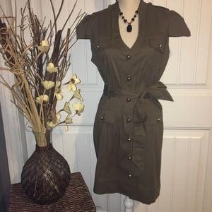 Express Button down Dress